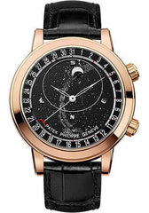 Patek Philippe 44mm Celestial Grand Complications Watch Black Dial 6102R - Luxury Time NYC INC