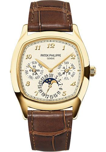 Patek Philippe 44mm Men Grand Complications Watch Cream Dial 5940J - Luxury Time NYC INC