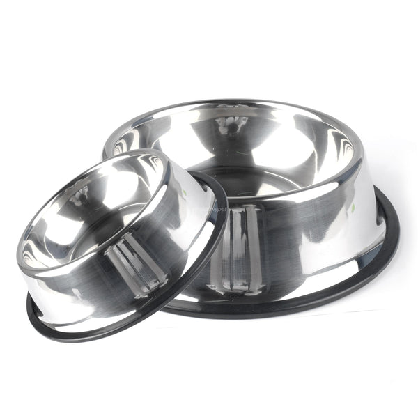 A Beautiful Stainless Steel Dog & Cat Bowl