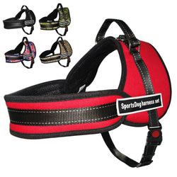 Comfortable & Breathable Mesh Dog Harness, Suitable for Medium and Large Sized Dogs