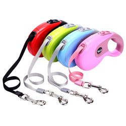 5M Retractable Dog Leash For Medium & Large Dogs
