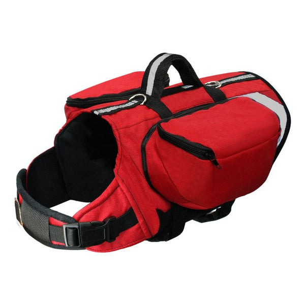 A High-Quality Dog Harness with a Storage Bag, Suitable for Trips, For Medium & Large Sized Dogs