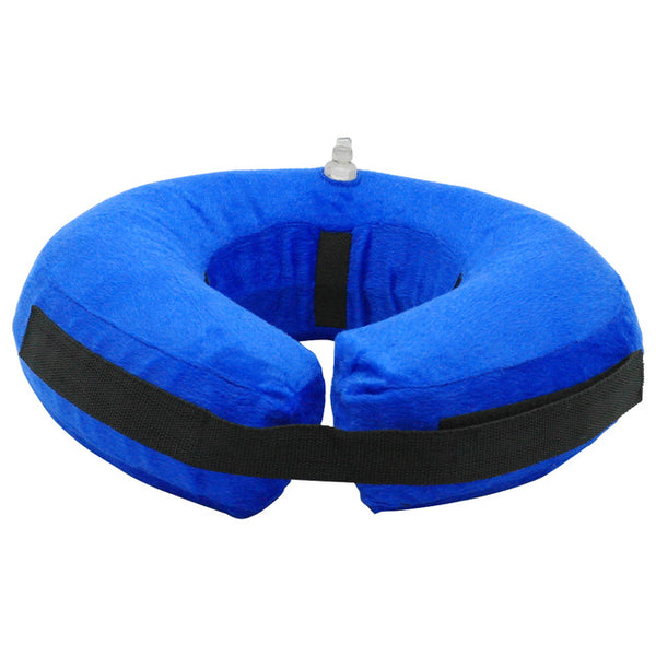 Inflatable E-collar for  Protective Recovery of the Collar Area of Your Pet