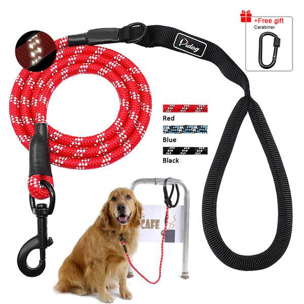 5ft Dog Training Leash For Medium & Large Dogs