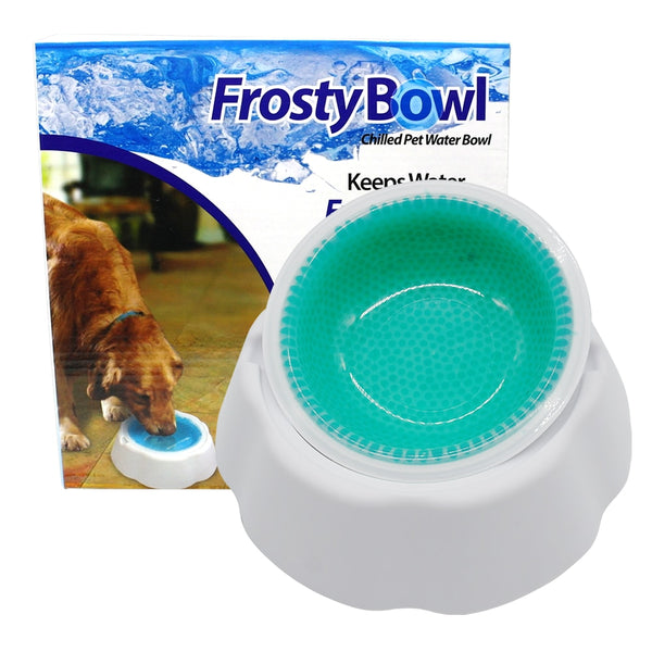 A Special Pet Bowl that Keeps Food Fresh and Cold and Grip to the Floor
