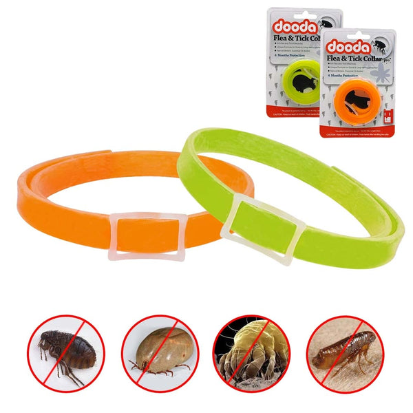 A  20 pc Packet of Flea, Anti Lice & Mosquito Pet Collars for Small & Medium Pets