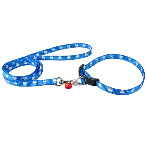 Dog Collar & Leash Set for Small Dogs