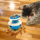 A Dog Toy Food Dispenser Shaped Like a Ball Providing Food in a Slow and Safe Way