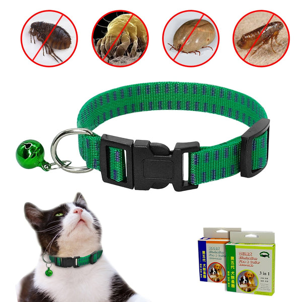 Flea Collar - Pests, Lice & Parasite Protection for Small Medium Dogs & Cats