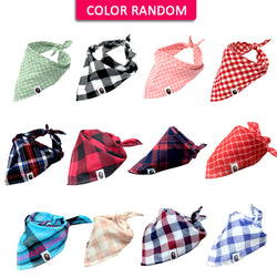 50 pc Wholesale Pet Bandana Set Designed with Ties, for Small, Medium & Large Pets