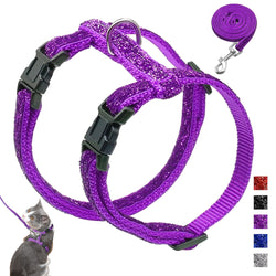 A beautiful Cat Vest Harness and Leash Set at a Low Price