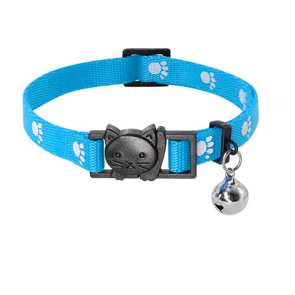 Fashionable Adjustable Cat Collar with Quick Release