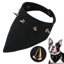 A Spiked Dog Bandana For Small Dogs & Cats