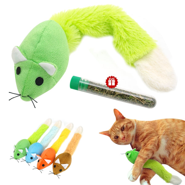 A CatToy With a Long Tail, Cute and at an Affordable Price