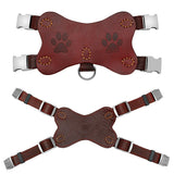 Leather Dog Harness for Medium & Large Dogs such as a Pitbull or Labrador