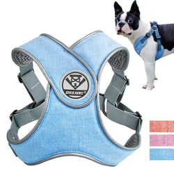 Soft and Breathable Dog Harness For Small, Medium & Large Dogs