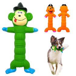 A Monkey-Shaped Chew Toy for Dogs, Makes a Sound, Low priced.