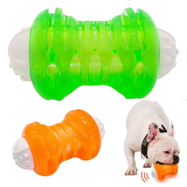 A Wonderful Pet Chew Ball Toy Made of Soft Rubber, For Small & Large Dogs