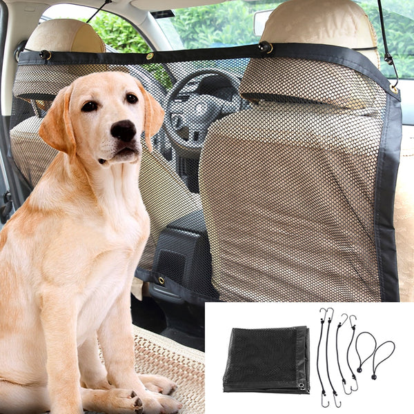 Safety Net for Separation of the Dog and Front Seat