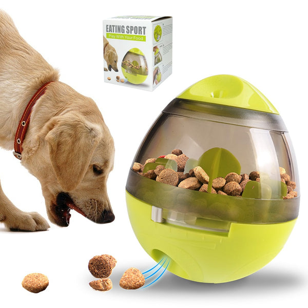 A Combination Food Dispenser and Chew and Play Toy. Suitable for Medium and Large Dogs