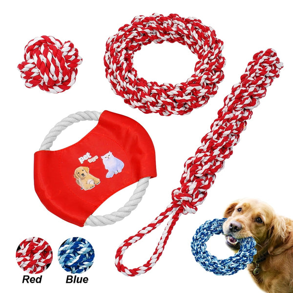 Chew and Rope Toys for Dogs & Cats