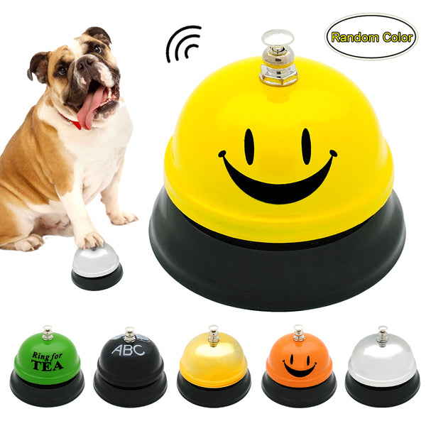 Toy For the Dog - a Ringing Bell for Training and Playing