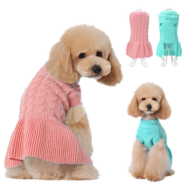 A Winter Pet Sweater for Protection Against Cold and Wind for Small and Medium Dogs & Cats