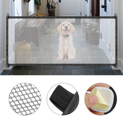 A Safety Dog Gate for Isolation, Made of of Mesh, at a Low Price