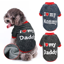 Adorable Dog Clothes With Warmth Like a Windbreaker for Small Dogs and Cats