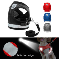 Perfect Dog Vest Harness and Leash Set For Small & Medium Dogs