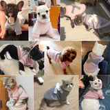 Beautiful Winter Dog Sweater Suitable for Small and Medium Dogs