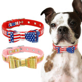 Dogs & Cat's Leather Collar for Small & Medium Pets