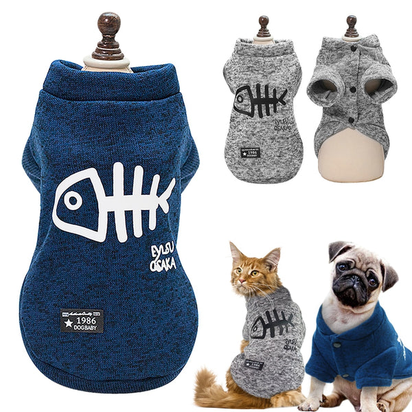 Winter Pet Clothes, Warm and Cozy, Suitable for Small and Medium Dogs & Cats