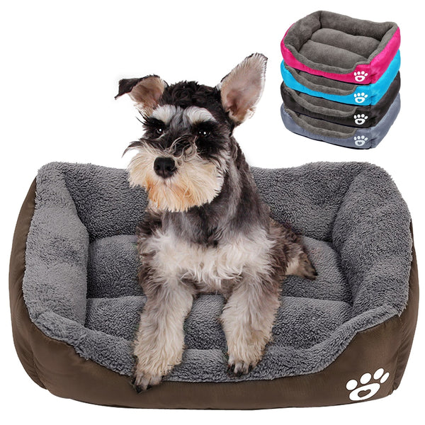 A Popular Dog or Cat Bed with a Mattress, Well-Padded for Large, Medium & Small Pets