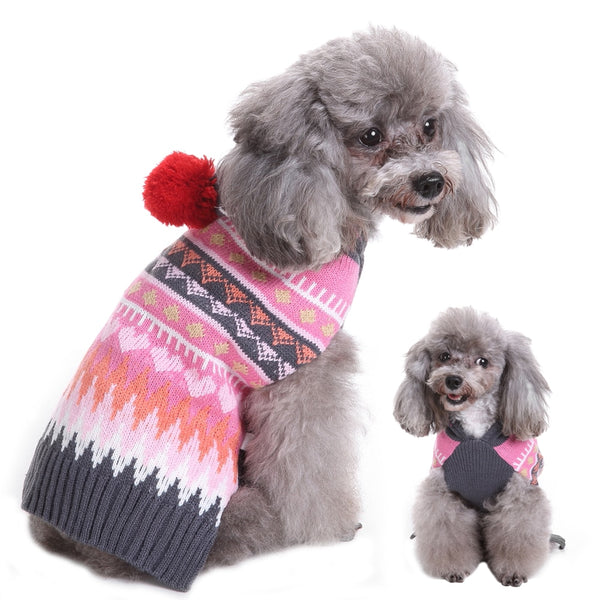 A Beautiful, Warm, Cat & Dog Sweater for Small, Medium & Large Pets