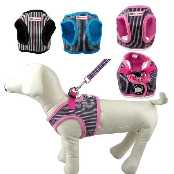 Cute Dog Harness and Leash Set for Small Dogs