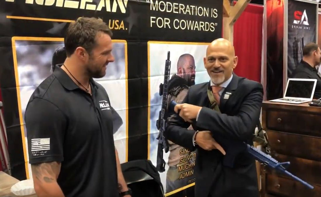 Rob Pincus with the McLean Dynamic Retention Sling DRS