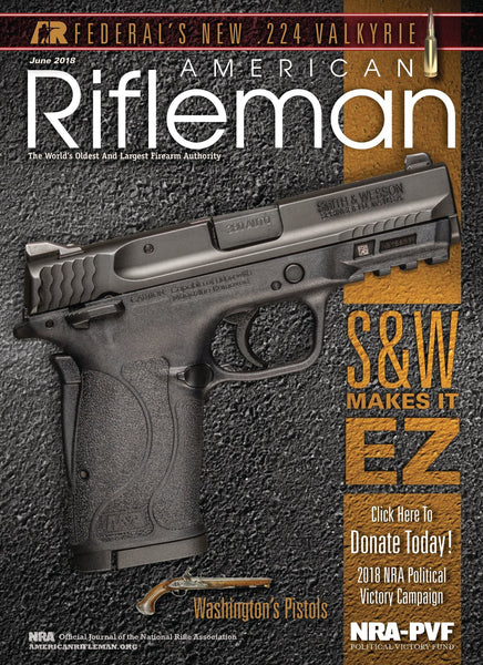NRA American Rifleman Magazine - June 2018
