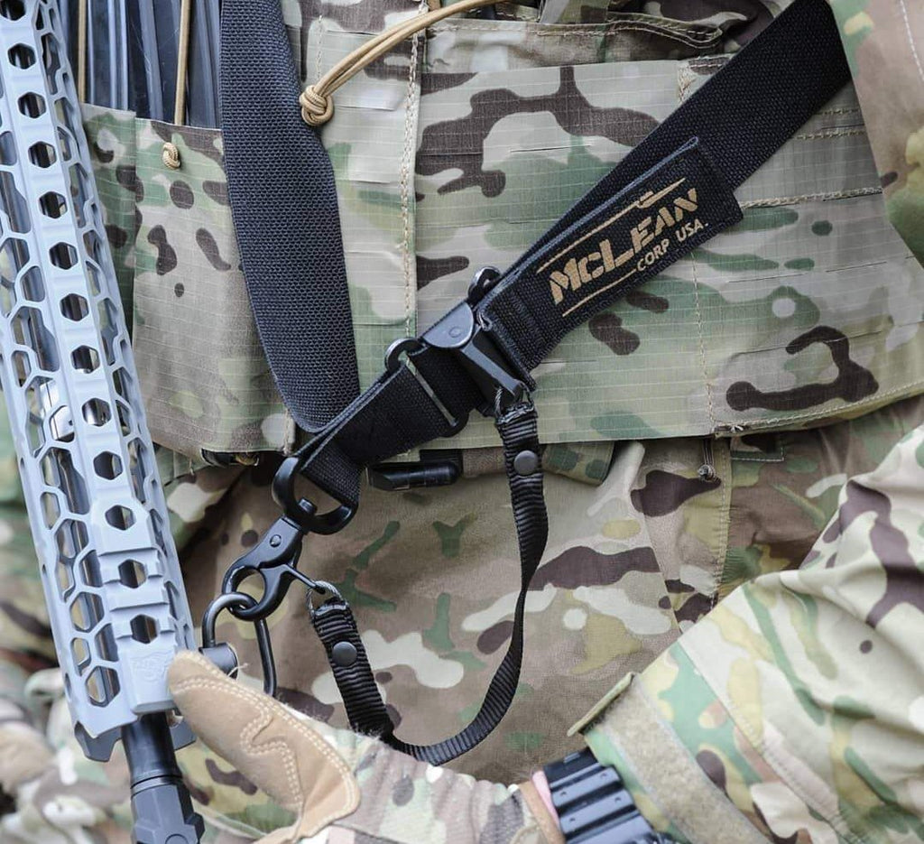 McLean Corp Black Dynamic Retention Sling