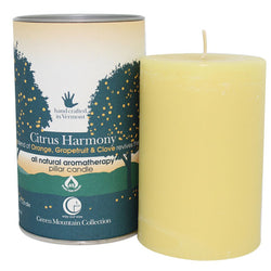 Citrus Harmony - Pillar Candle