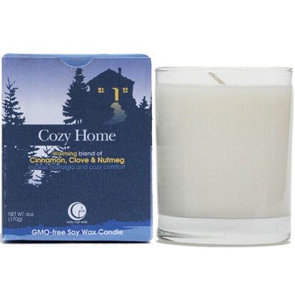 Cozy Home - Clear Glass Tumbler