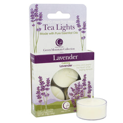 Lavender - Tealight Candle 4-pack