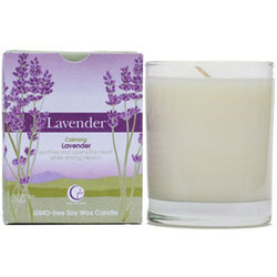Lavender - Clear Glass Tumbler
