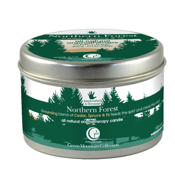 Northern Forest - Large Travel Tin
