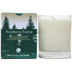Northern Forest - Clear Glass Tumbler