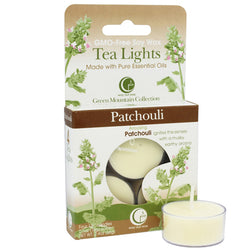 Patchouli  - Tealight Candle 4-pack