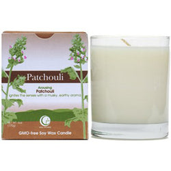 Patchouli - Clear Glass Tumbler