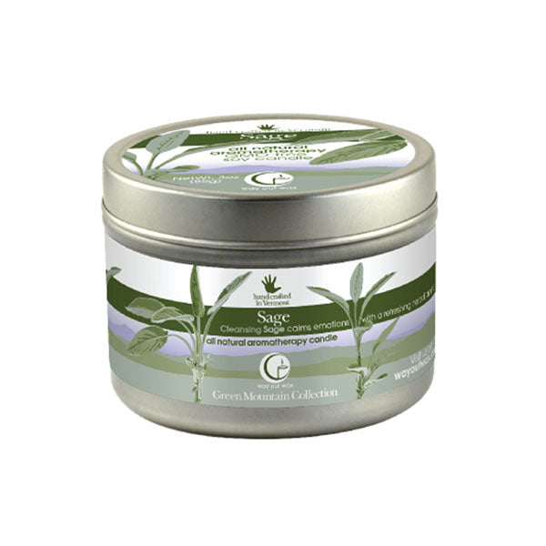 Sage - Medium Travel Tin Candle