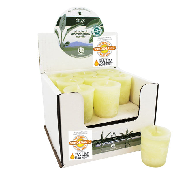 Sage - Votive Candle 18 pack