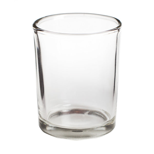 Clear Votive Glass Candle Holder